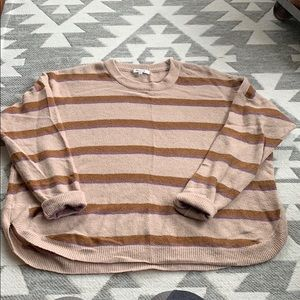 Madewell Westlake Striped Sweater
